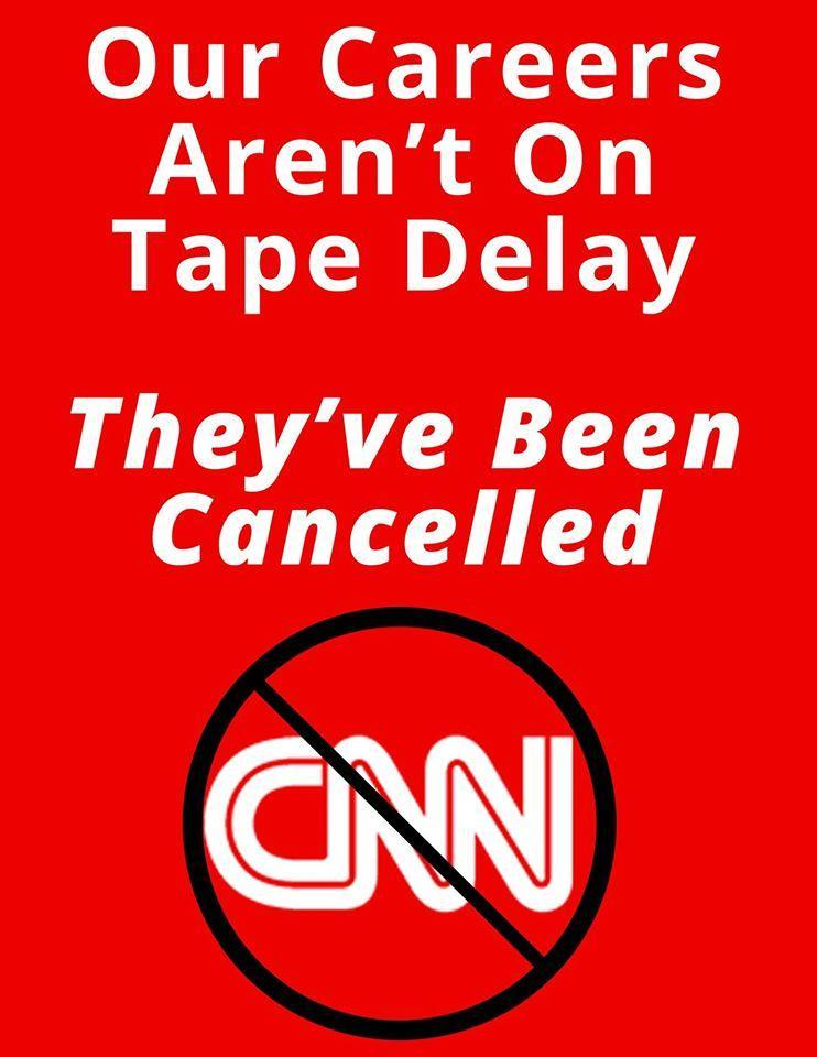 Our Careers Aren't On Tape Delay, They've Been Cancelled